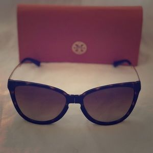 TORY BURCH cat eye folding sunglasses